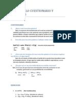 Desarrollo Cuestionario y Ejercicios