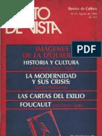 33087451 PUNTO de VISTA Revista de Cultura 21 Agosto 1984