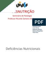 Seminário de Patologia COMPLETO