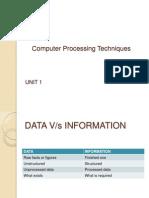 Computer Processing Techniques