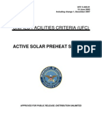 Active Solar Preheat Systems