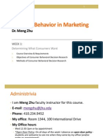 2013 Decision Behavior in Marketing_Week 1_BB