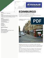 Guia Turistica Edimburgo