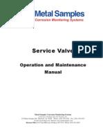 Service Valve Manual