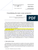 BENNETT, Andy - Consolidating Music Scenes Perspective.pdf