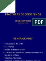 Fracturas de Codo Ninos