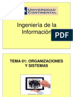 Tema 01 - Organizaciones y Sistemas