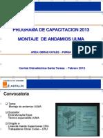 Capacitacion_montaje Andamios ULMA