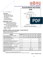 W10 Bridge Rectifier Datasheet