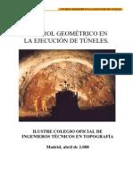 Control Geométrico de Túneles