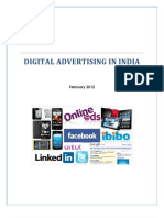 Digital Advertising Report February 2012