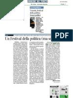 """Festival Della Politica """"Voci Fuori Campo"""" 2012"""
