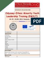 Application Form EMYLT