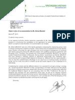 lettre recommandation mauduit
