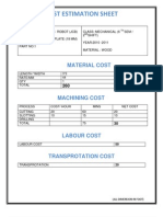 Costing Format