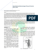 Penatalaksanaan Abses Submandibula Dengan Penyulit Uremia Dan Infark Miokardium Lama