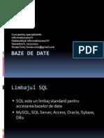 BD1 SQL web