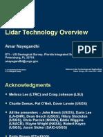 Nayegandhi Lidar Technology Overview