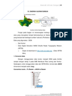 Membuat Watersheds Dan Drainage Networks