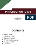 API Presentation