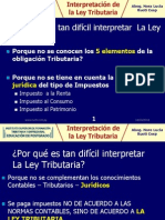 1 Porque Es Tan Dificil Interpretar La Ley Tributaria-1