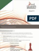 Red Queen Technology Presentación Empresarial 2013