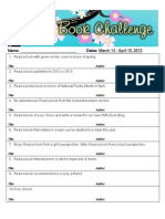 Spring Book Challenge
