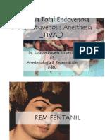 Anestesia Total Endovenosa TIVA.pptx