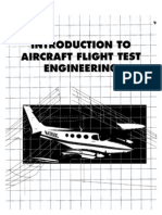 Aircraft Flight Testing Design