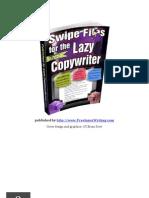 Swipe Files for the Lazy Copywriter