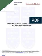 Teoria Uso Formula Polinomica Mayo 2009