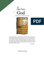 Paul Washer - One True God