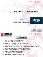 Chap 4-Theories of Counseling