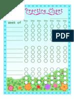 Practice Chart