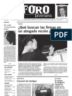 Foro Javeriano Marzo 2013