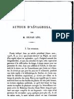 """""""Autour d'Asvaghosa"""" by Sylvain Levi"""