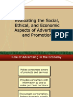 Economic Social Impact of Advertising
