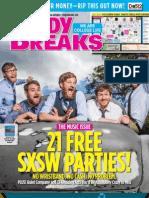 Study Breaks Magazine March 2013- San Antonio