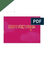 Happy New Year Firecrackers