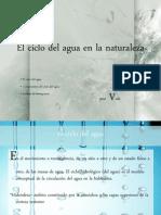 01El Ciclo Del Agua en La Naturaleza