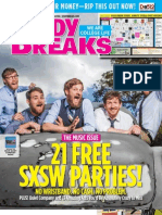 Study Breaks Magazine March 2013- Austin