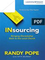 Insourcing by Randy Pope