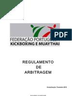 FPKMT Regulamento de Arbitragem FEV13