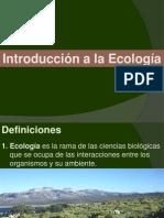1.Ecologia - Conceptos