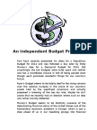 An Independent Budget