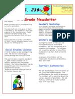 3rd Grade March Newsletter