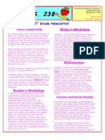 5th Grade March Newsletter