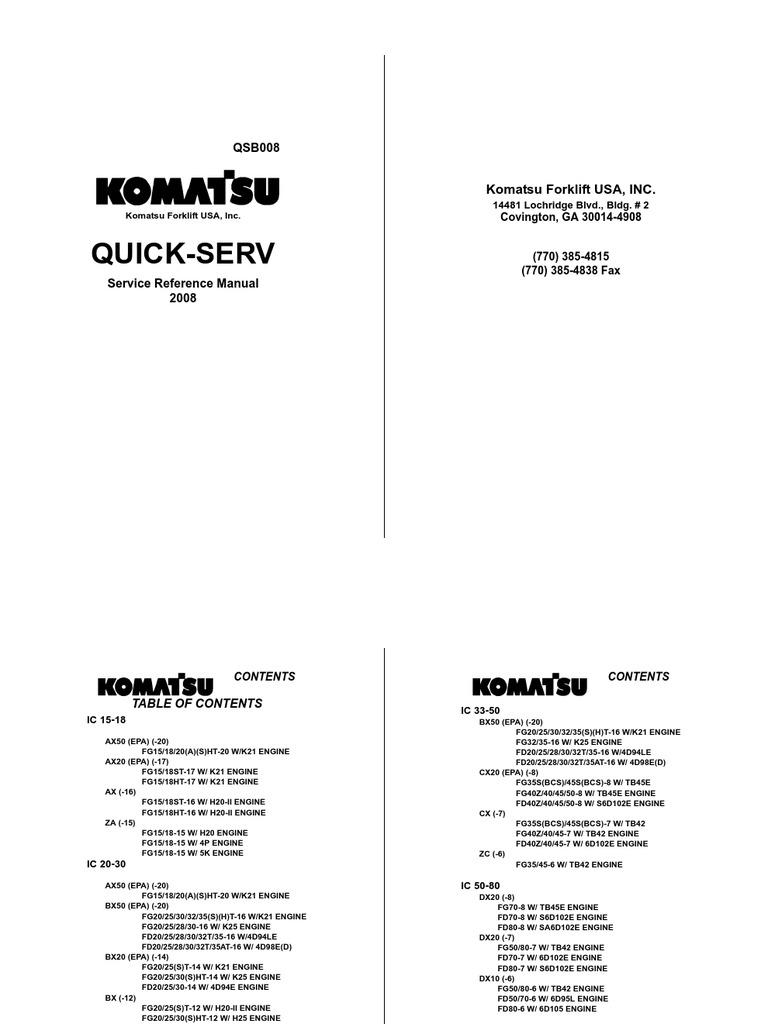 Komatsu K21 K25 Wiring Diagram Free Download Bx50 Qsb008 For Klink 121208 Pdf Caterpillar Diagrams At