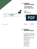 Airbus A319-A321 [DLH] Training Manual, ATA 27 Flight Controls Level 3