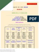 MODELOS DE CONJUGACIÓN DE VERBOS EN ESPAÑOL.pdf